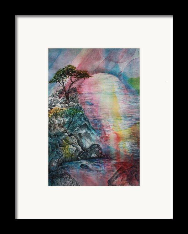 Soulmates Framed Print By Patsy Sharpe