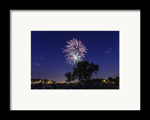 Spark And Bang Framed Print By Cj Schmit