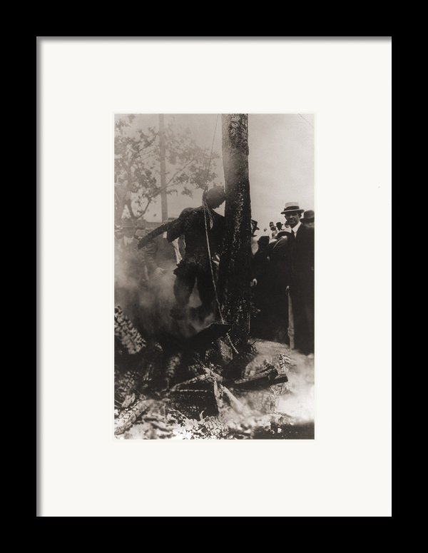 Spectators Photographed Framed Print By Everett