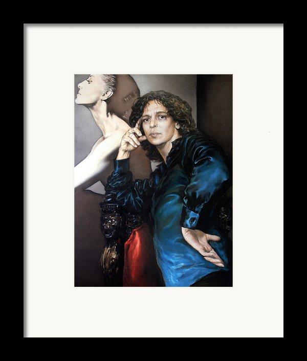 S.portrait Framed Print By Valeriy Mavlo