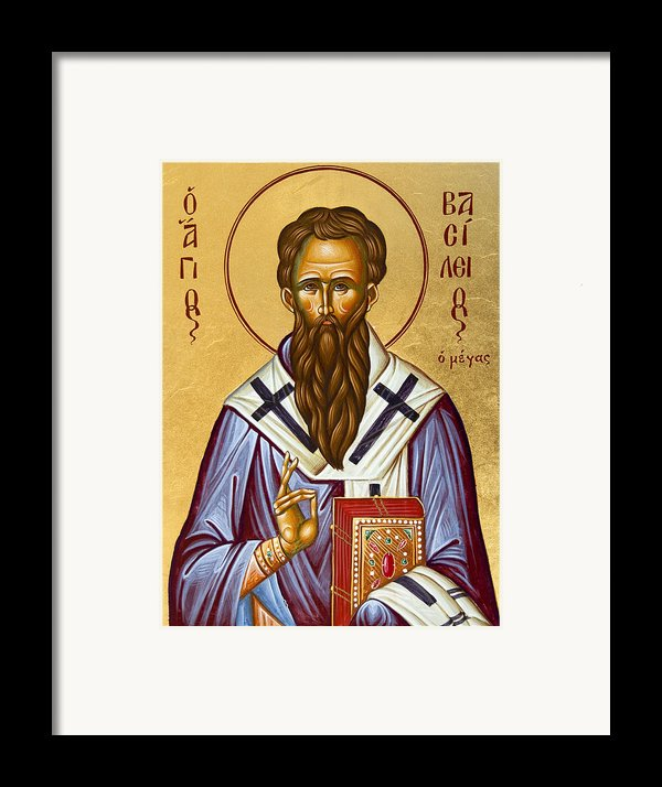 St Basil The Great Framed Print By Julia Bridget Hayes