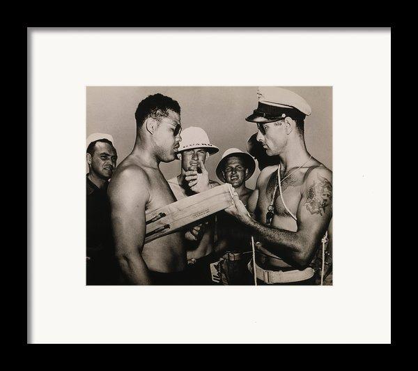 Staff Sergeant Joe Louis, World Framed Print By Everett
