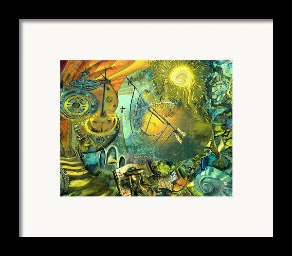 Stairway To Heaven Framed Print By Anne Weirich