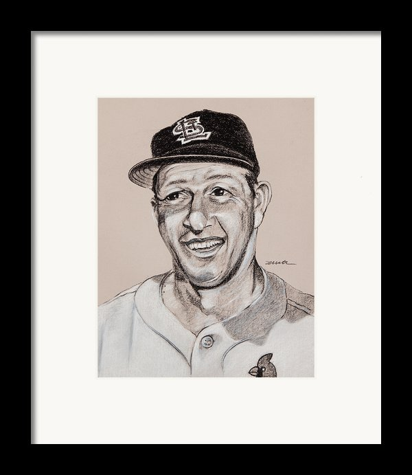 Stan The Man Framed Print By Jim Wetherington
