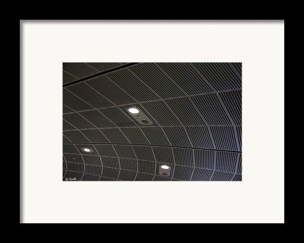 Star Ship Enterprise Framed Print By Ed Smith