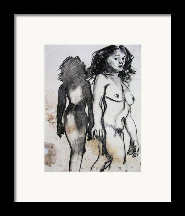 Startled Framed Print By Brad Wilson