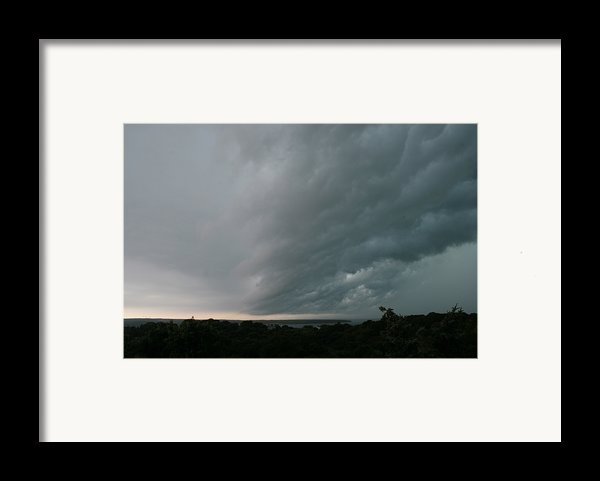 Storm Approaches Montauk Framed Print By Christopher Kirby