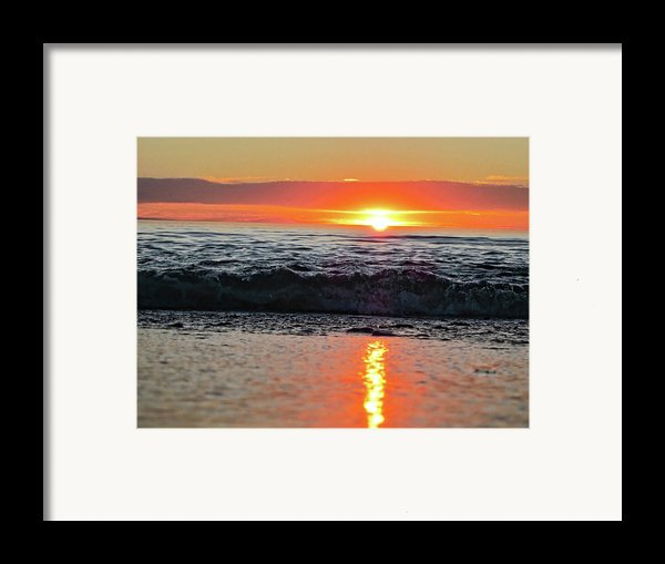 Sunset Beach Framed Print By Douglas Barnard