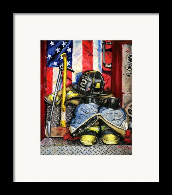 Symbols Of Heroism Framed Print By Paul Walsh