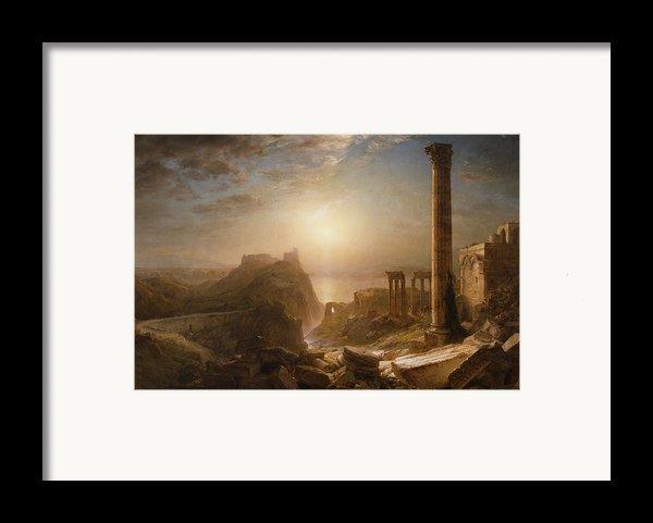 Syria By The Sea Framed Print By Frederic Edwin Church