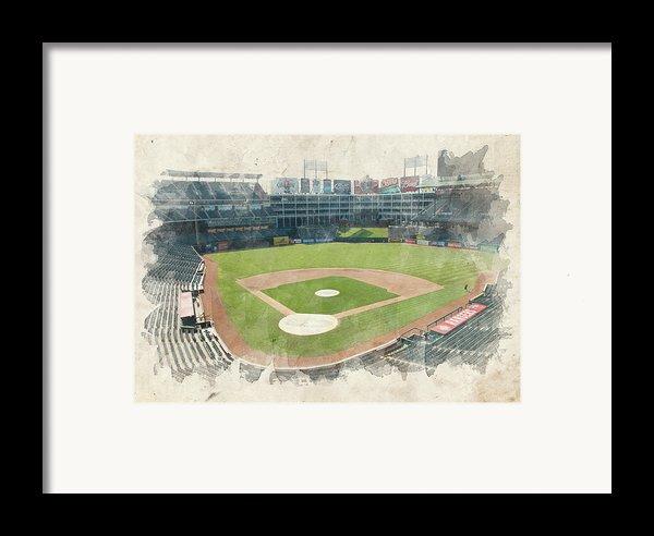 The Ballpark Framed Print By Ricky Barnard
