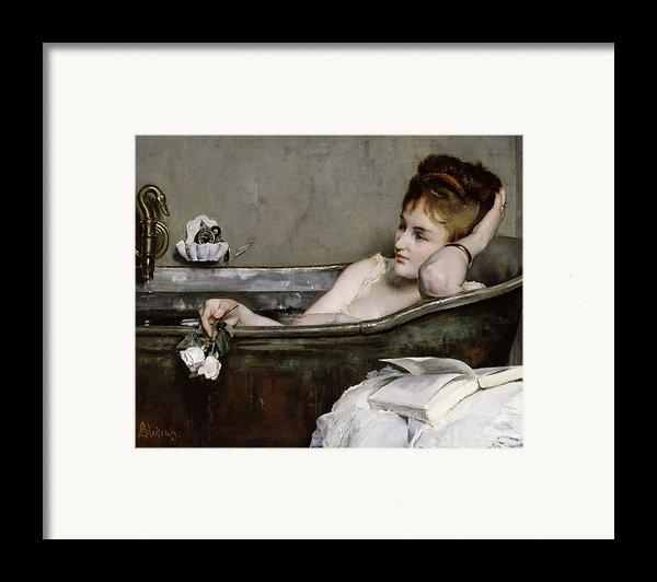 The Bath Framed Print By Alfred George Stevens