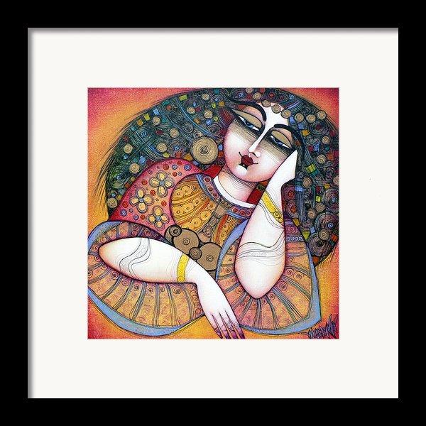 The Beauty Framed Print By Albena Vatcheva