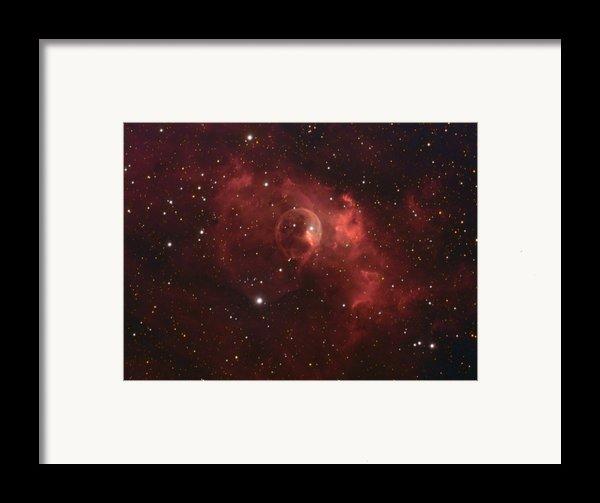 The Bubble Nebula Framed Print By Charles Warren