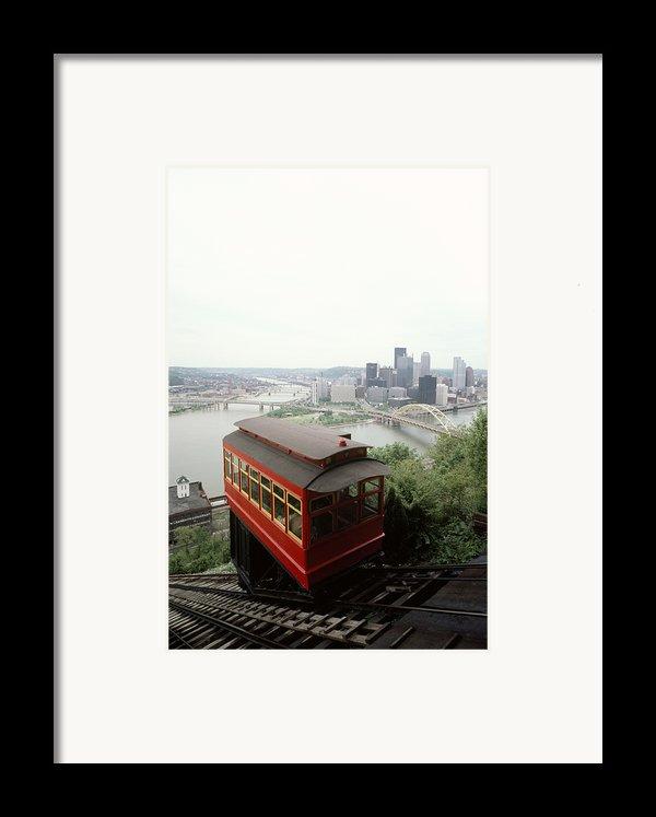 The Cable Car To Mount Washington Framed Print By Lynn Johnson