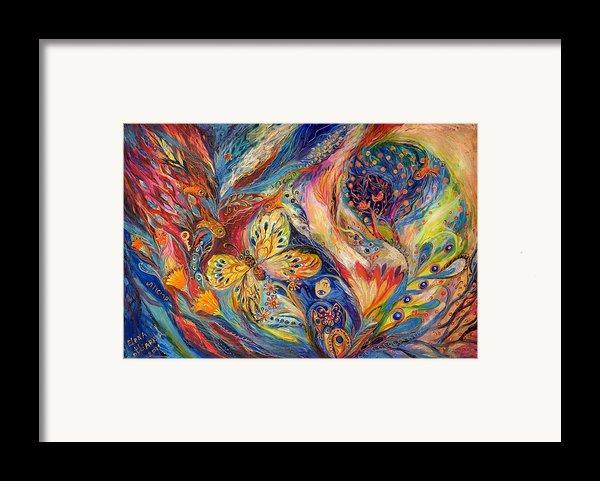 The Chagall Dreams Framed Print By Elena Kotliarker