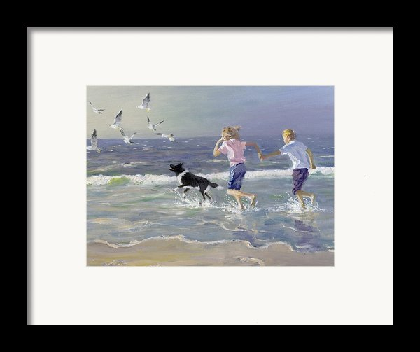 The Chase Framed Print By William Ireland