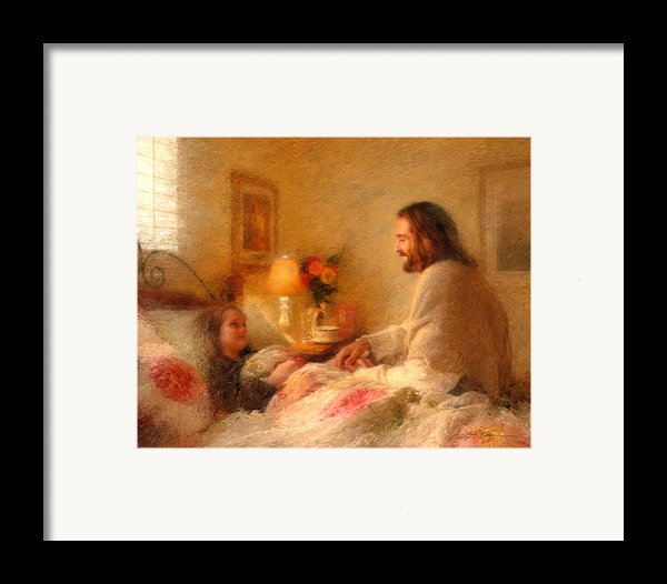 The Comforter Framed Print By Greg Olsen