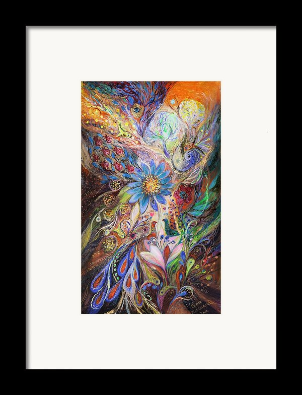 The Dance Of Light Framed Print By Elena Kotliarker