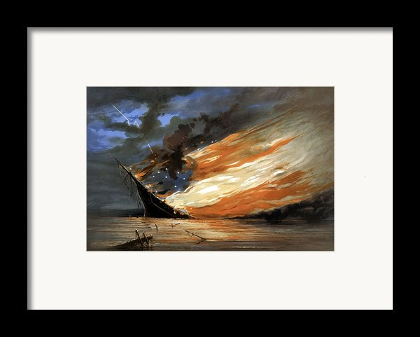 The Fate Of The Rebel Flag Framed Print By War Is Hell Store