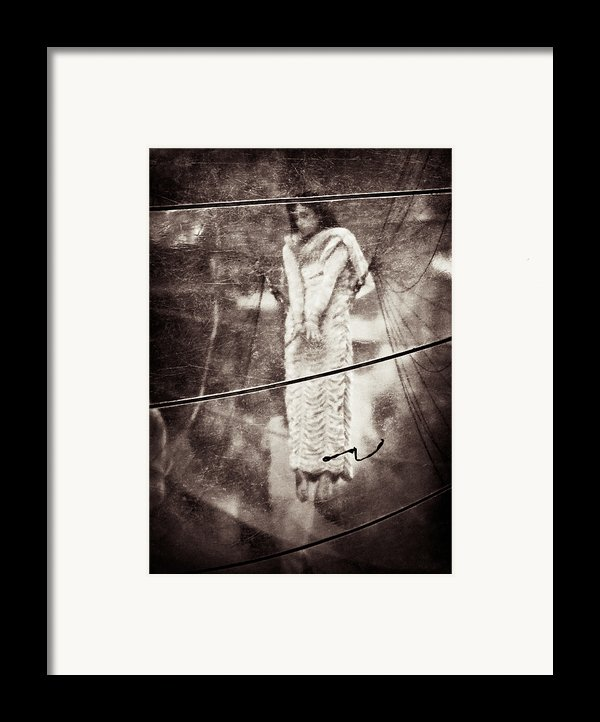 The Girl In The Bubble Framed Print By Dave Bowman