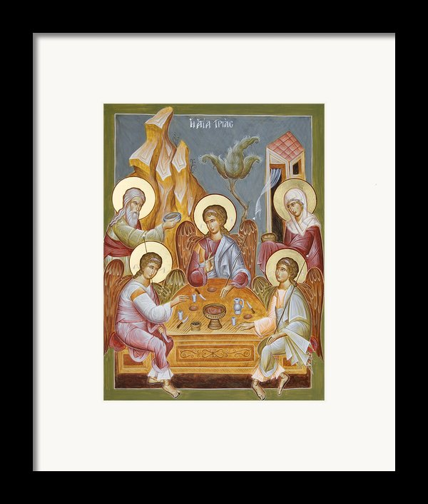 The Holy Trinity Framed Print By Julia Bridget Hayes