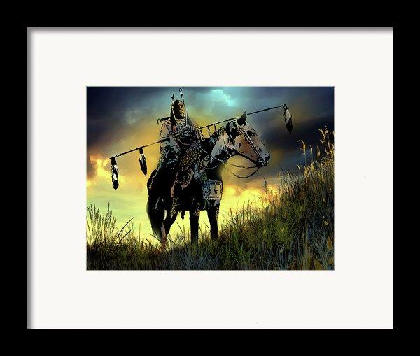 The Last Ride Framed Print By Paul Sachtleben