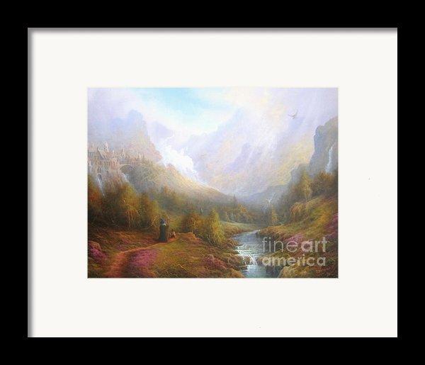 The Misty Mountains Framed Print By Joe  Gilronan