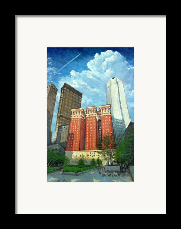 The Omni William Penn Hotel Framed Print By Erik Schutzman