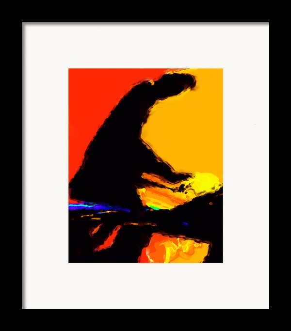 The Pianist Framed Print By Richard Rizzo