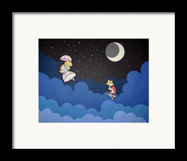 The Plumber And The Princess Framed Print By Kenya Thompson