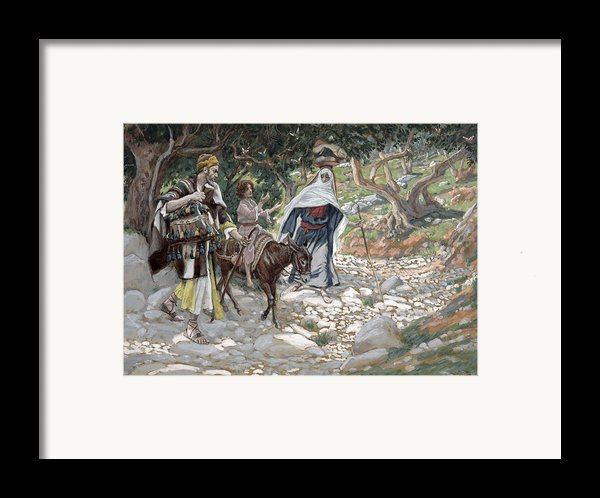 The Return From Egypt Framed Print By Tissot