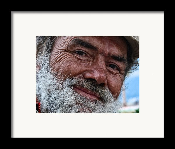 The Smile Of Life Framed Print By Erhan Ozbiyik
