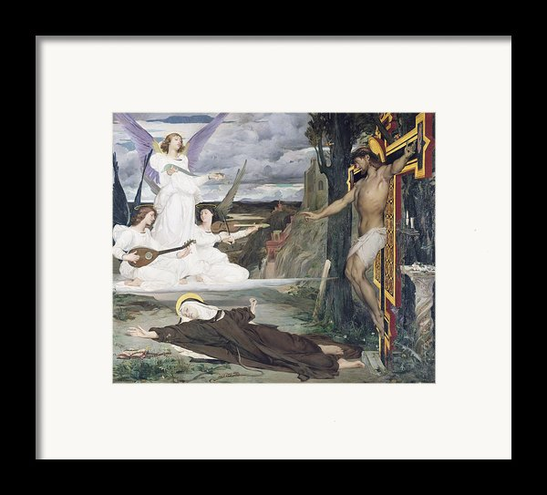 The Vision Framed Print By Luc-oliver Merson