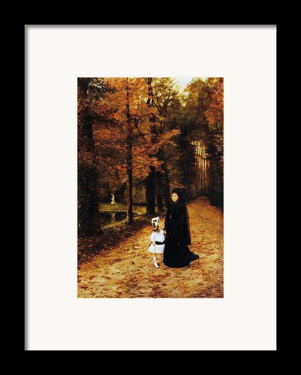 The Widow Framed Print By Horace De Callias