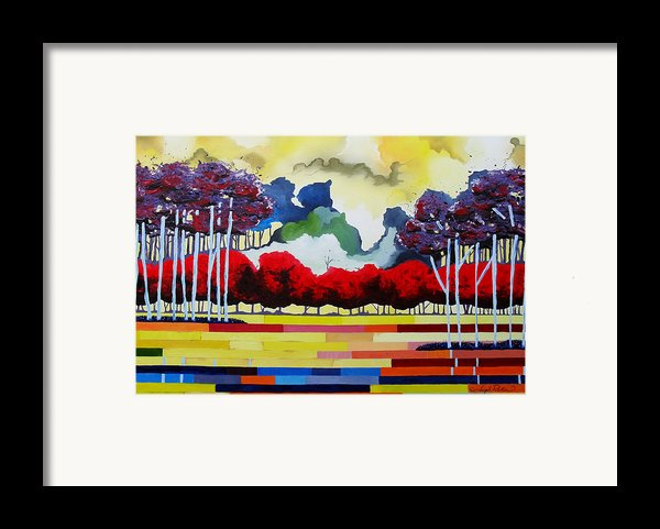 Tomorrows Yesterday  Framed Print By Joseph Palotas