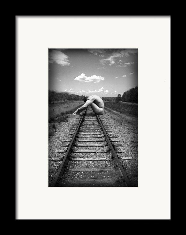 Tracks Framed Print By Chance Manart