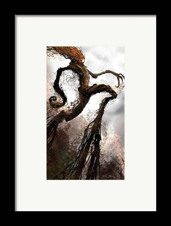 Treeman Framed Print By Alex Ruiz