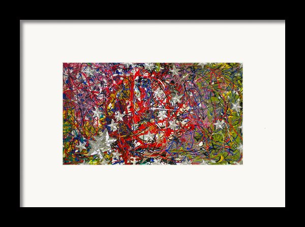 True American Colors Framed Print By Dylan Chambers