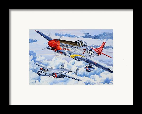 Tuskegee Airman Framed Print By Charles Taylor