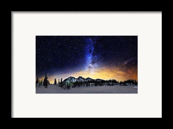 Under The Stars Framed Print By Alexis Birkill