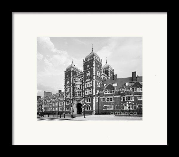 University Of Pennsylvania The Quadrangle Framed Print By University Icons