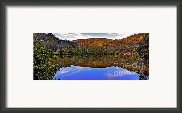 Valley Of Peace Framed Print By Kaye Menner