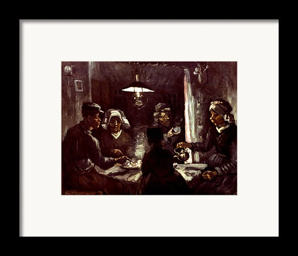 Van Gogh: Meal, 1885 Framed Print By Granger