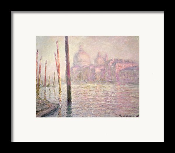View Of Venice Framed Print By Claude Monet