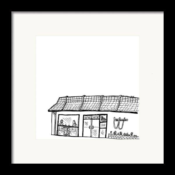 Wcdonalds Framed Print By Karl Addison