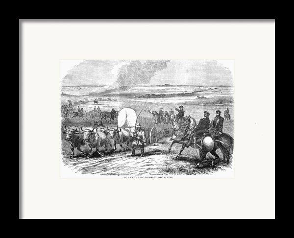 Westward Expansion, 1858 Framed Print By Granger