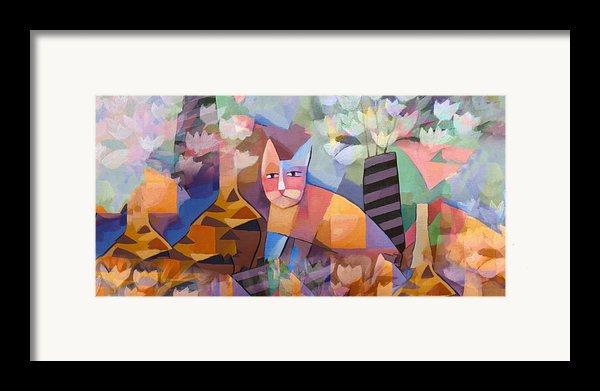 Wild Cat Blues Framed Print By Lutz Baar