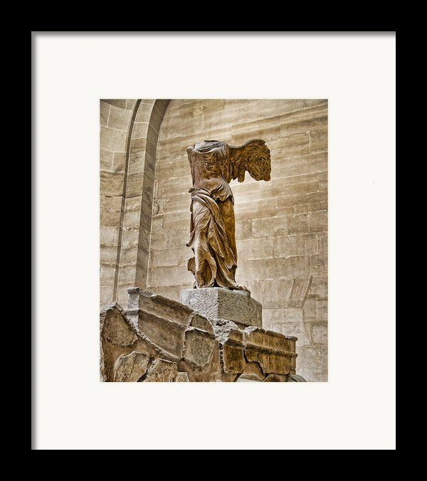 Winged Victory Framed Print By Jon Berghoff