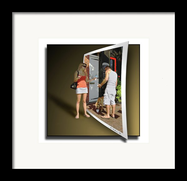 Worlds Apart Framed Print By Brian Wallace